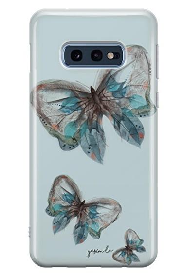 Lopard Samsung Galaxy S10E Kılıf Pepela Kapak Renkli